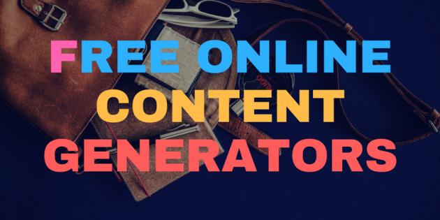Free Online Content Generators SEO Machine