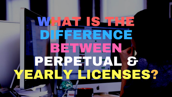 What is the difference between perpetual & yearly licenses?